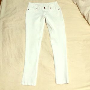 Pants - White Skinny Jeggings